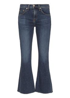 Rag & Bone Paz 10 Inch Crop Flare Jeans