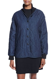 rag & bone/JEAN Addison Quilted Denim Jacket