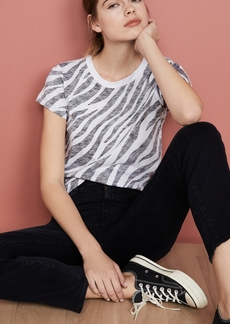 Rag & Bone/JEAN All Over Zebra Tee