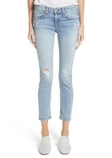 rag & bone/JEAN Ankle Skinny Jeans (Double)