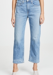 Rag & Bone/JEAN Ankle Straight Jeans