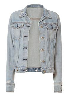 Rag & Bone/JEAN Avenida Studded Denim Jacket