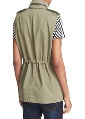 rag & bone/JEAN 'Bennet' Cotton Utility Vest