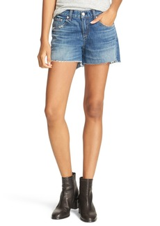 rag & bone/JEAN Boyfriend Cutoff Denim Shorts (Oro)