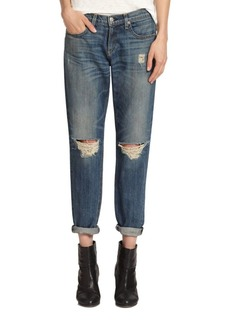 rag & bone/JEAN Boyfriend Distressed Jeans