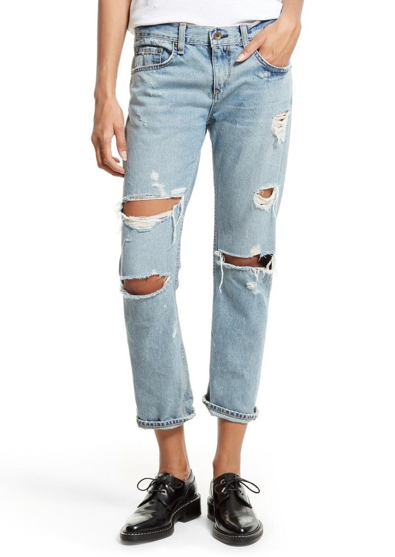 b249f6946b5 Rag & Bone rag & bone/JEAN Boyfriend Jeans (Beckers Ripped Med ...