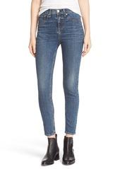 rag & bone/JEAN 'Capri' High Rise Skinny Jeans (Worn)