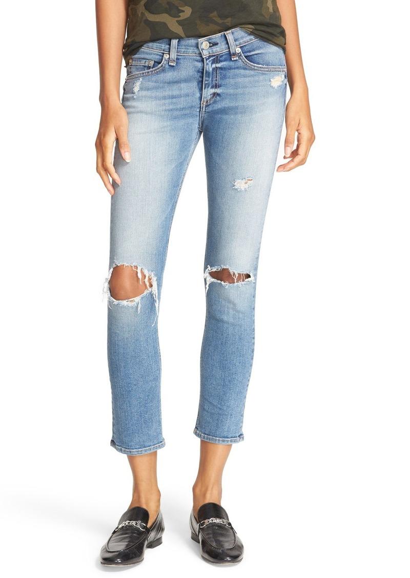 Rag & Bone rag & bone/JEAN Capri Skinny Jeans (Gunner) | Denim ...
