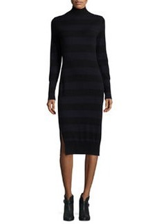 rag & bone/JEAN Careen Striped Mock-Neck Sweater Dress