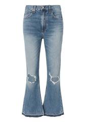 Rag & Bone/JEAN Carls Vintage Crop Flare Jeans