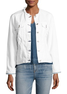 rag & bone/JEAN Collarless Jean Jacket
