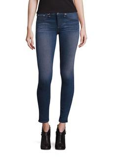 rag & bone/JEAN Contrast Stitch Skinny Jeans