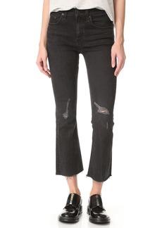 Rag & Bone/JEAN Crop Flare Jeans