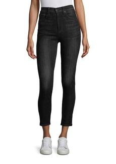 rag & bone/JEAN Cropped Skinny Fit Jeans