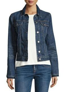 rag & bone/JEAN Cuff-Less Jean Jacket
