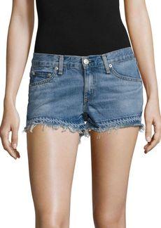 rag & bone/JEAN Cut-Off Denim Shorts/Tully