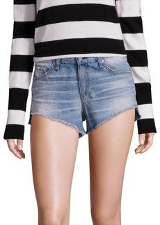 rag & bone/JEAN Cut-Off Denim Shorts