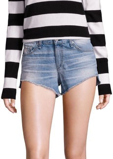 Rag & Bone Cut-Off Denim Shorts