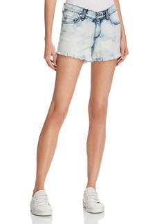 rag & bone/JEAN Cut-Off Shorts in Bleach