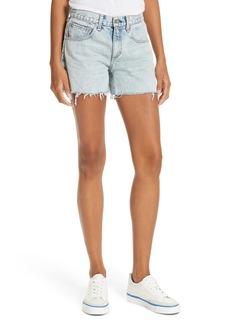 rag & bone/JEAN Cutoff Boyfriend Shorts (Clean Madison)