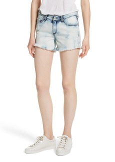 rag & bone/JEAN Cutoff Denim Shorts (Bleach)