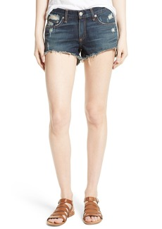 rag & bone/JEAN Cutoff Denim Shorts (Doris)
