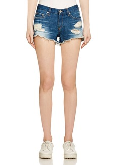 rag & bone Cutoff Denim Shorts in Freeport