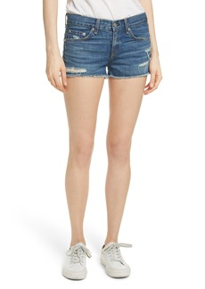rag & bone/JEAN Cutoff Denim Shorts (Johnny)