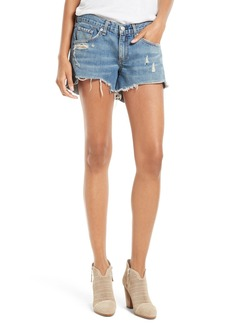 rag & bone/JEAN Cutoff Denim Shorts (Winnie)
