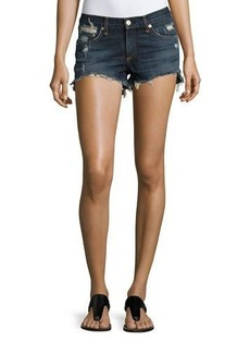 rag & bone/JEAN Cutoff Distressed Denim Shorts