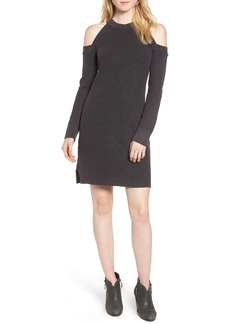 rag & bone/JEAN Dana Cold Shoulder Sweater Dress