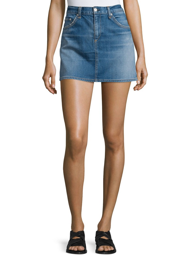 rag & bone/JEAN Denim Mini Skirt