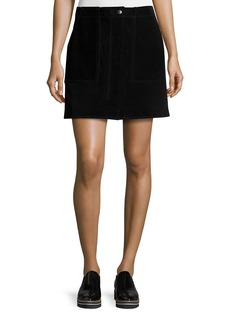 rag & bone/JEAN Denny Suede Mini Skirt