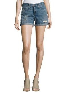 rag & bone/JEAN Distressed Boyfriend Denim Shorts
