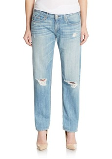 rag & bone/JEAN Distressed Boyfriend Jeans