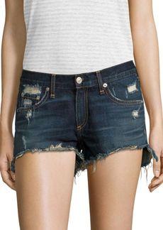rag & bone/JEAN Distressed Denim Cut-Off Shorts/Doris