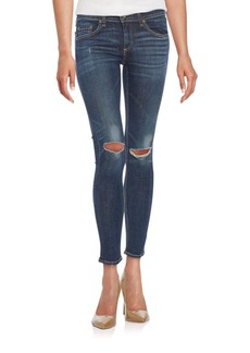 rag & bone/JEAN Distressed Skinny Jeans