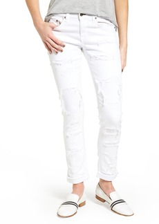 rag & bone/JEAN Dre Ankle Skinny Jeans (White Brigade)