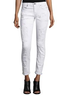 rag & bone/JEAN Dre Distressed Cropped Skinny Jeans