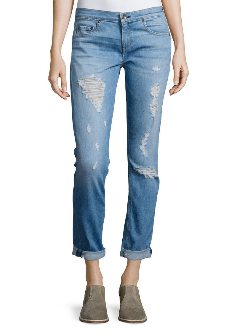 rag & bone/JEAN Dre Distressed Cuffed Jeans