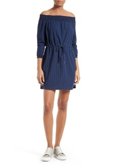 rag & bone/JEAN Drew Off the Shoulder Cotton Dress