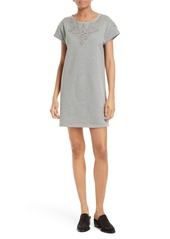 rag & bone/JEAN Eyelet Cotton T-Shirt Dress