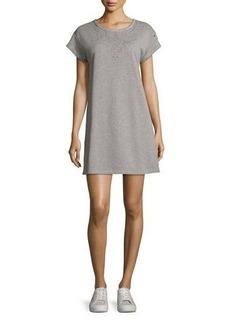 rag & bone/JEAN Eyelet Short-Sleeve Tee Cotton Dress