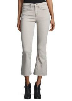 rag & bone/JEAN Flare-Leg Cropped Jeans