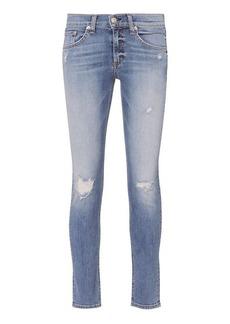 Rag & Bone/JEAN Gunner Rip Capri Jeans