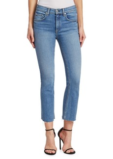 Rag & Bone Hana Crop Medium Wash Jeans