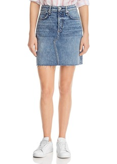 rag & bone Hayden Denim Skirt in Ave