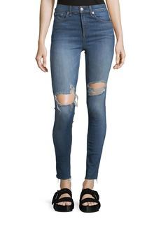 rag & bone/JEAN High-Rise 10 Inch Skinny Jeans