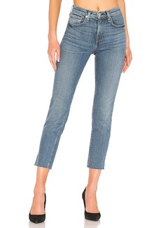rag & bone/JEAN High Rise Ankle Dre