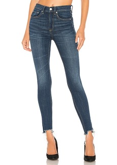 rag & bone/JEAN High Rise Ankle Skinny